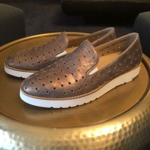 These are Johnston and Murphy slip on shoes #3.